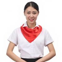 Solid Color Polyester Scarves Manufactures