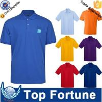 OEM golf polo shirt for men professional manufacturer Manufactures