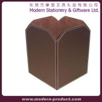 New style convenient household leather basket