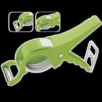 Veg & Fruit Cutter & Peeler (2 in 1) Manufactures