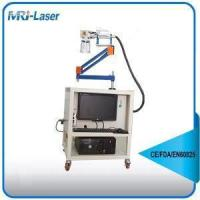 Cheap Full Enclosed Cabinet Fiber Laser Marking Machine 30W Manufactures