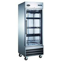Buy cheap Commercial Doors SABA Air 29-Inch 23 Cu. Ft One Section Glass Door Reach-In Refrigerator, ST-23RG from wholesalers