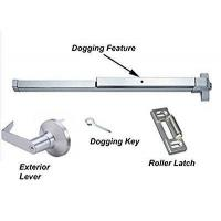 Buy cheap Commercial Doors Dynasty Hardware Push Bar Panic Exit Device Aluminum, With Exterior Lever from wholesalers