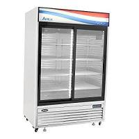 Buy cheap Commercial Doors BRAND NEW COMMERCIAL 2 Sliding glass door refrigerator Stainless Steel from wholesalers