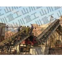 Crushed stone production line