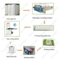 Semi-automatic Toilet Paper Roll Production Line