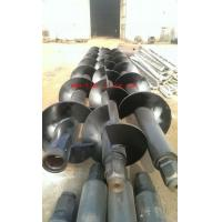 Buy cheap SMW/DEEP SOIL MIX WALL mutiple shaft auger with mixing paddlles for Deep soil mixing (DSM) from wholesalers