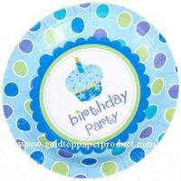 Paper Plate Birthday Party Plate
