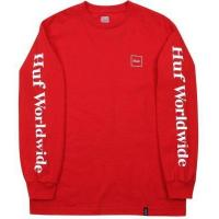 HUF Domestic LS Tee, Red Manufactures