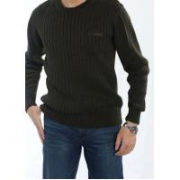 Men's Winter Casual Round Neck Cotton Sweater | Basic Pullover Sweater