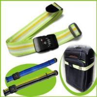 Nylon Durable Rainbow Luggage Strap with Combination Lock Manufactures