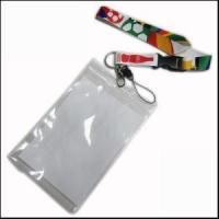 Big PVC ID Card Holder Polyester Lanyard Production from Zhanhong Manufactures