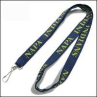 Double Thick Popular Woven Logo Neck Strap Manufactures