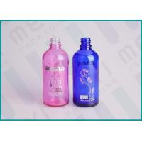 DIN 18mm Glass Dropper Bottles With Silkscreen Printing And Hot Stamping