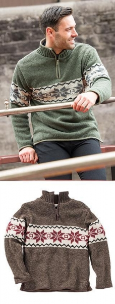 Quality Handknitted Woollen Jackets Product Code: JU306 for sale