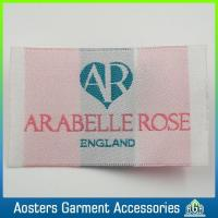 Custom Kids Clothing Sew in Silk Woven Labels Manufactures