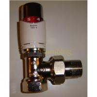 "Heating Controls Drayton TRV4 3/4"" Angle Thermostatic Radiator Valve Manufactures"