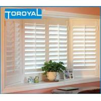 Buy cheap Louver Adjustable Interior 135bay PVC Window Shades Shutters Control Privacy and Airflow Shutter from wholesalers