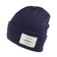 Woven Patch Cuff Beanies