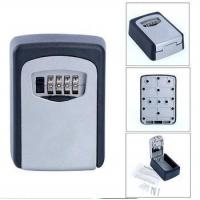 China Key Storage Lock Box Wall Mount Holder 4Digit Combination Safe Outdoor Security on sale