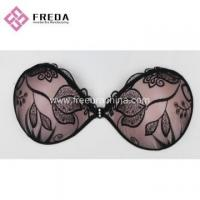 Buy cheap Leaves Lace Stick On Strapless Bras from wholesalers