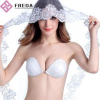 Buy cheap White Lace backless Push Up Bra from wholesalers