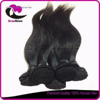 Buy cheap NSBW-44 6a 100% indian virgin hair silky straight full cuticle and can be dyed again Item:NSBW-44 from wholesalers