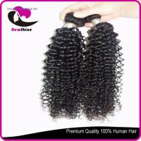 Buy cheap NSBW-46 6a 100% indian virgin hair curly full cuticle and can be dyed again Item:NSBW-46 from wholesalers