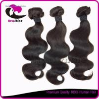 Buy cheap NSBW-48 6a 100% indian virgin hair body wave full cuticle and can be dyed again Item:NSBW-48 from wholesalers