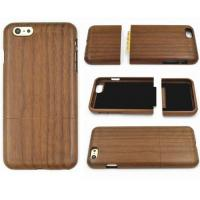 Buy cheap IPHONE6PLU Item No.: HJIP08Walnut Wood Finish IPHONE Protection Case from wholesalers