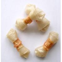Buy cheap Dog Chews and Chicken Raw Cow Skin Knot Bone and Chicken Le3004 from wholesalers
