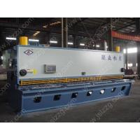 Buy cheap Guillotine Shearing Machine Hydraulic press brake type shearing machine from wholesalers