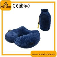 China Multi-purpose U shape inflatable neck support travel pillow on sale