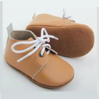 Wholesale Baby Oxford Shoes Soft Leather Mix 20 Colors OEM Size Boys Oxford Shoes