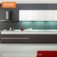 Best Quality DIY Plywood White Melamine Kitchen Cabinets Manufactures