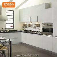 Low Cost Refacing White Painted Modern Cabinets in Kitchen Manufactures