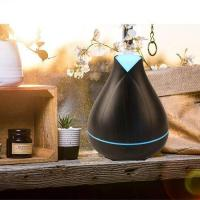Wood Grain Ultrasonic Cool Mist Humidifier Aroma Diffuser Manufactures