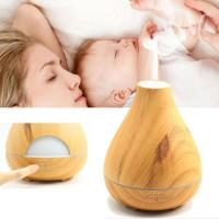 530ml Aromatherapy Wood Grain Humidifier Essential Oil Diffuser Manufactures