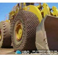 Tire protection chain for OTR tire used on wheel loader Manufactures