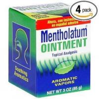 Mentholatum ointment, 3-ounce (85 g) (pack of 4) Manufactures