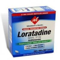 Member's mark loratadine 10mg (compare to claritin), 360-count Manufactures