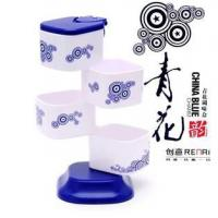 Blue-and-white creative seasoning box Blue-and-white creative seasoning box