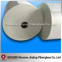 China Thickness 0.3mm Smooth Surface Fiberglass Tissue for Battery Separator on sale