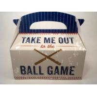 Take Me Out To The Ball Game Gift Tote Vegetarian All Natural Treats Manufactures