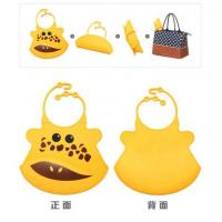 Colorful Waterproof Baby Bibs/silicon Bibs With Pocket Manufactures