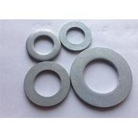 Metric Carbon Steel Flat Washers , Industrial Round Plate Washer DIN 125 Manufactures