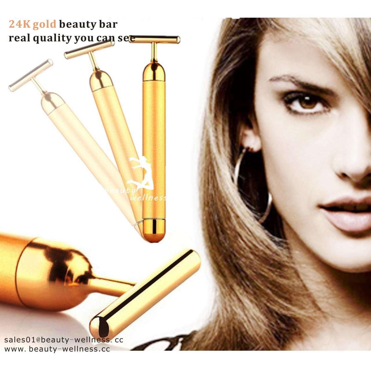 Buy cheap W-7802 24K Gold T-shape Multifunction Wrinkle Remover from wholesalers