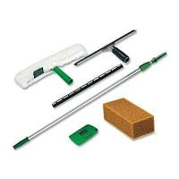 Unger Pro Window Cleaning Kit with 8 Foot Pole, Scrubber, Squeegee, Scraper, Sponge (PWK00) Manufactures