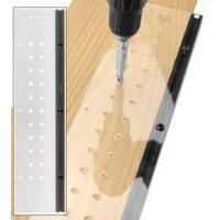 LINE BORING TEMPLATE FOR EURO HINGES AND SHELF PINS