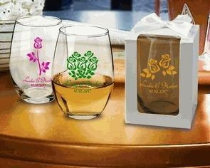 Quality Gift Box for 15oz or 17oz Stemless Wine Glass (Set of 10) for sale